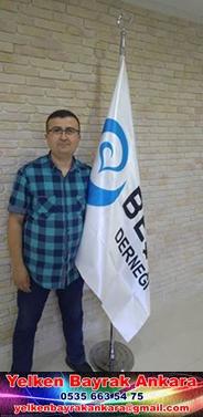 beşir derneği makam bayrak reklam branda yelken bayrak kırlangıc bayrak