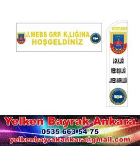 jandarma komutanlığı bayrakları reklam
